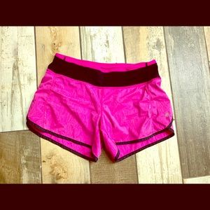Women's size 4 newer Lululemon running shorts